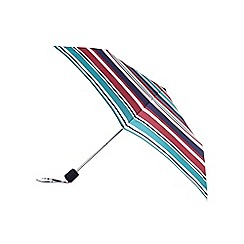 J by Jasper Conran - Designer pink striped umbrella