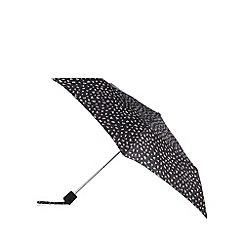 RJR.John Rocha - Black floral print umbrella