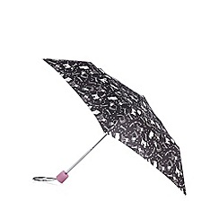 Mantaray - Black dog rain umbrella