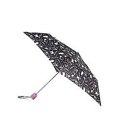 Mantaray - Black dog rain umbrella