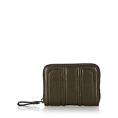 Todd Lynn/EDITION - Designer khaki zip around purse