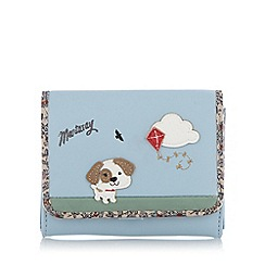 Mantaray - Pale blue dog kite flap over purse