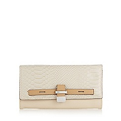 Principles by Ben de Lisi - Designer natural croc panel belted purse