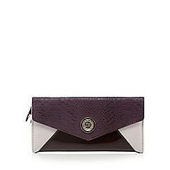 Star by Julien MacDonald - Designer dark red envelope purse