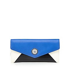 Star by Julien Macdonald - Designer blue envelope purse