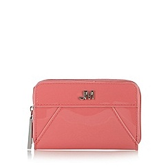 Star by Julien Macdonald - Designer pink patent zipped small purse
