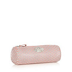 Mantaray - Pink butterfly printed pencil case