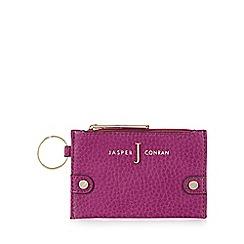J by Jasper Conran - Designer dark pink textured coin purse