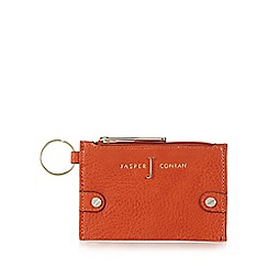 J by Jasper Conran - Designer orange textured coin purse