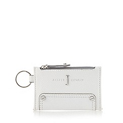 J by Jasper Conran - Designer white studded coin purse