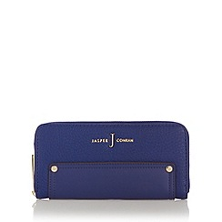 J by Jasper Conran - Designer blue stud large purse