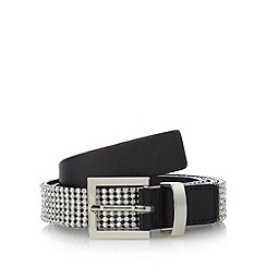 The Collection - Black rhinestone belt