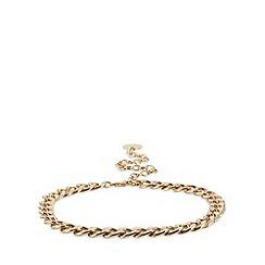 Faith - Gold chain coin charm belt