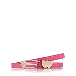 Floozie by Frost French - Pink heart keeper skinny belt