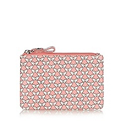 Mantaray - Pink butterfly printed coin purse
