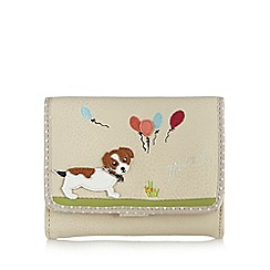 Mantaray - Cream dog medium purse