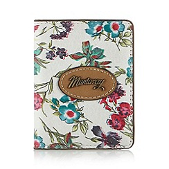 Mantaray - White floral card holder