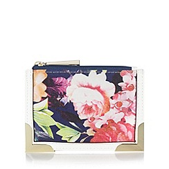 Star by Julien Macdonald - Designer pink floral coin purse
