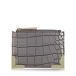 Star by Julien MacDonald - Designer purple metallic mock croc coin purse