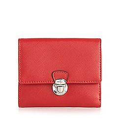 The Collection - Red push lock medium purse