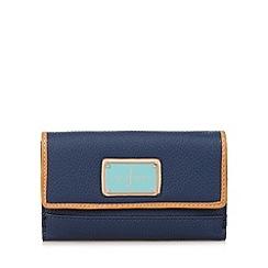 J by Jasper Conran - Designer navy logo medium purse