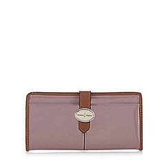 J by Jasper Conran - Designer light pink patent tab over purse