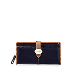 J by Jasper Conran - Designer navy patent brooch purse