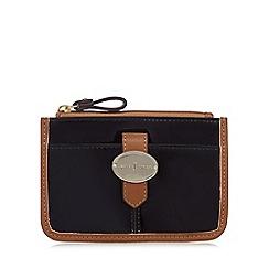 J by Jasper Conran - Designer black patent coin purse