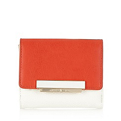 J by Jasper Conran - Designer red colour block small purse