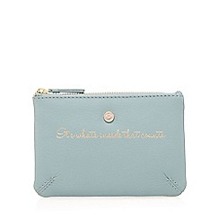 Bailey & Quinn - Light green 'What's Inside' coin purse