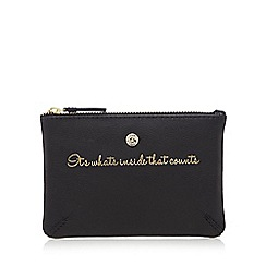 Bailey & Quinn - Black 'What's Inside' coin purse