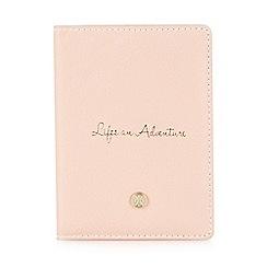 Bailey & Quinn - Pale pink passport holder