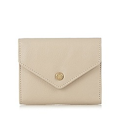 Bailey & Quinn - Cream leather small envelope purse