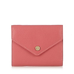 Bailey & Quinn - Coral leather small envelope purse