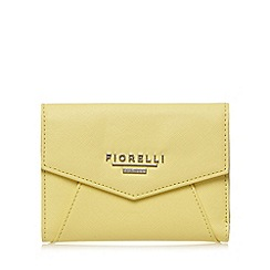 Fiorelli - Yellow small envelope flap over purse