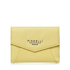 Fiorelli - Yellow small envelope flap over purse