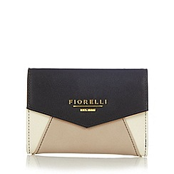 Fiorelli - Fawn colour block medium flap over purse