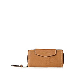 Fiorelli - Tan large flap over tab purse