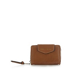 Fiorelli - Tan small flap over tab purse