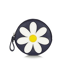 Floozie by Frost French - Navy applique daisy coin purse