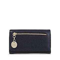 RJR.John Rocha - Designer navy zip front large purse