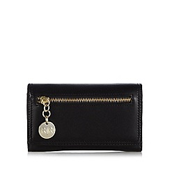 RJR.John Rocha - Designer black zip detail large purse