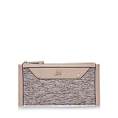 Star by Julien Macdonald - Designer pink tweed zip top purse