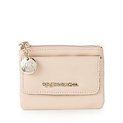 RJR.John Rocha - Designer pale pink zip coin purse