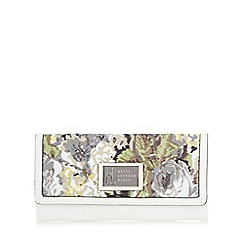 Betty Jackson.Black - Designer white floral large purse