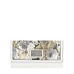 Betty Jackson.Black - Designer white floral large purse