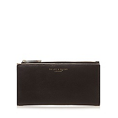 Bailey & Quinn - Black 'Fern' leather fold up large purse