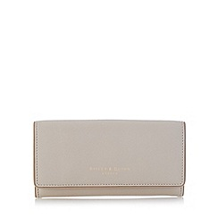 Bailey & Quinn - Cream 'Heather' leather large flap over purse