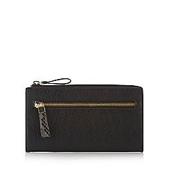 RJR.John Rocha - Designer black snake trim purse