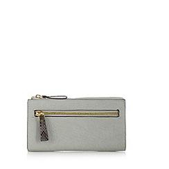RJR.John Rocha - Designer grey snake trim purse